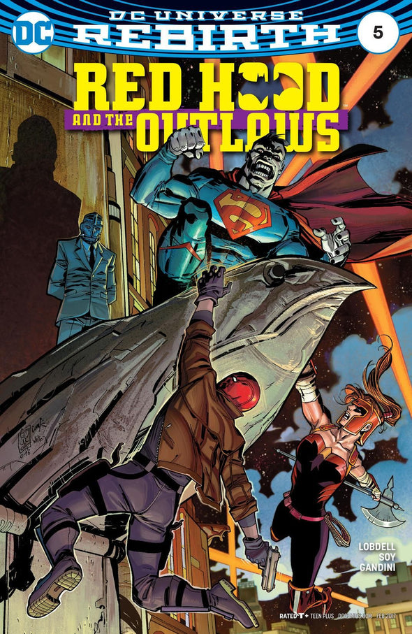 Red Hood and the Outlaws (2016) #05