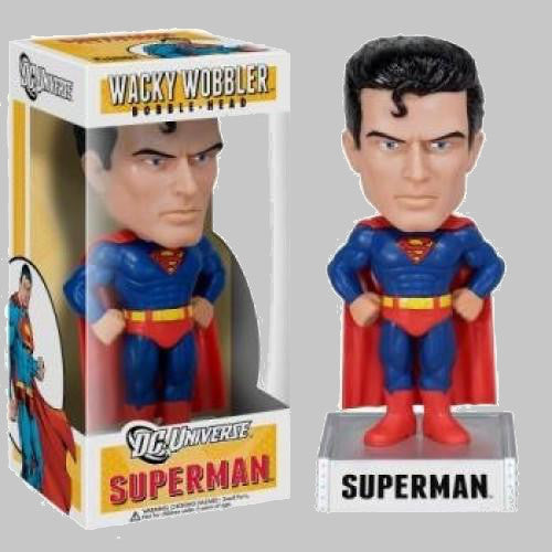 Superman Wacky Wobbler Bobble-Head Figure