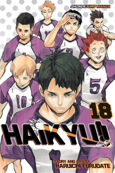 Haikyu TP Vol. 18