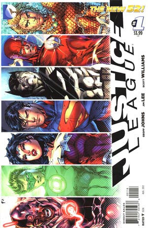 Justice League (2011) #01 (8th Printing)