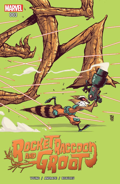 Rocket Raccoon & Groot (2016) #03
