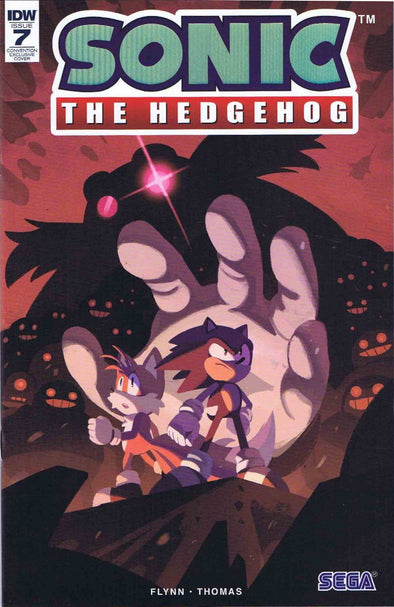 Sonic the Hedgehog (2018) #07 (SDCC 18 EXC Variant)