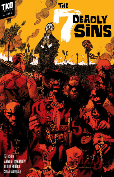 7 Deadly Sins #1-6 Issue Box Set