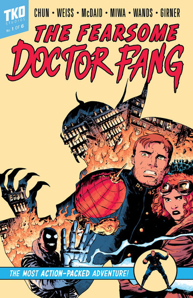 Fearsome Doctor Fang #1-6 Issue Box Set