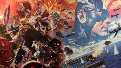 Captain America #01 Alex Ross Poster