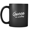 Queen In Waiting - Black Mug