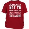 I Promise Not To Underestimate You - Youth T-shirt