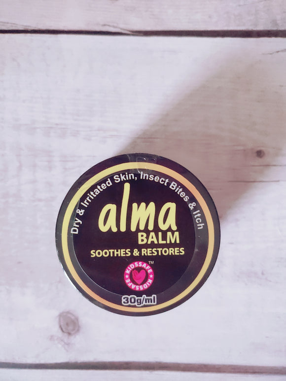 Eczema friendly Itch relief and Moisturizing Alma balm (Suits babies and up!)