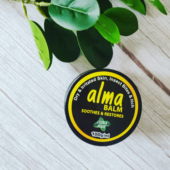 Eczema friendly Extra Minty Alma balm for adults
