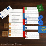 A Few Printables from the Montessori Preschool Concepts Editable Tracing  Pack