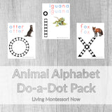 Animal Alphabet Do-a-Dot Pack