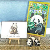 Animal-Inspired Mindfulness Affirmation Cards and Booklet in Manuscript and Cursive