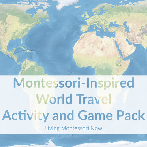 Montessori-Inspired World Travel Activity and Game Pack