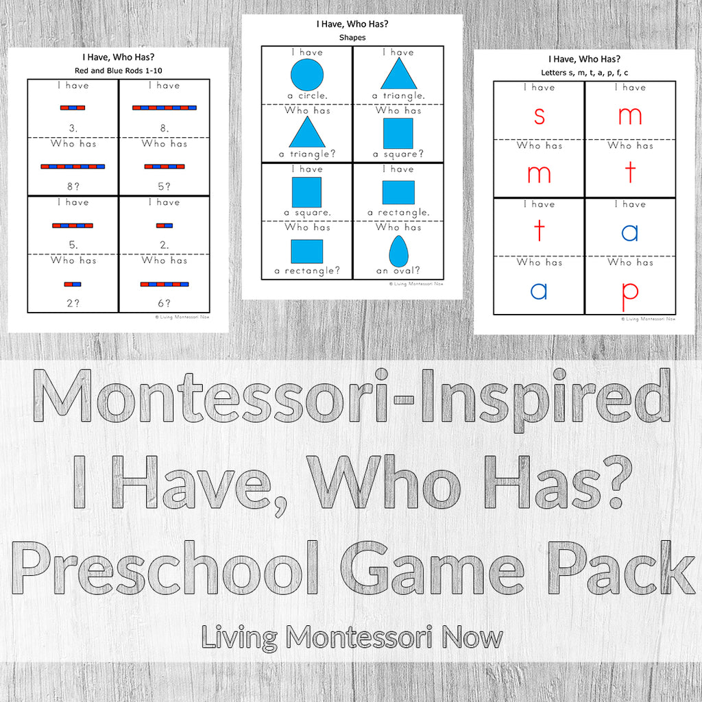 The Montessori At Home! eBook & Materials Bundle