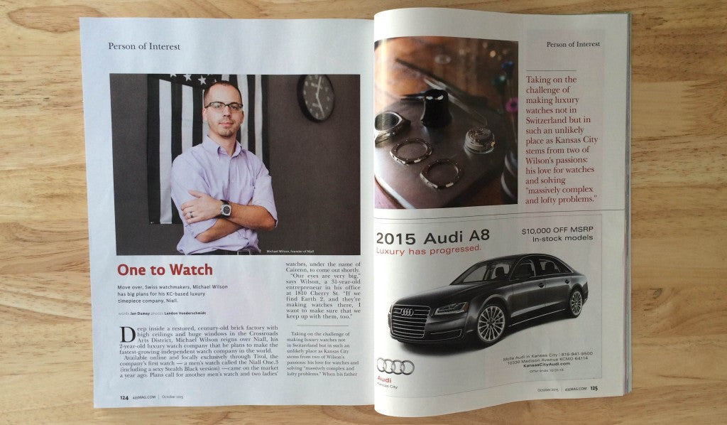 435 MAGAZINE INTERVIEWS CEO AND CO-FOUNDER MICHAEL WILSON
