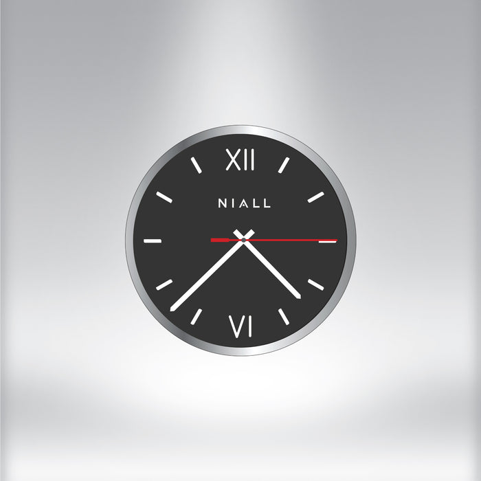 Clock (Raw Stainless)