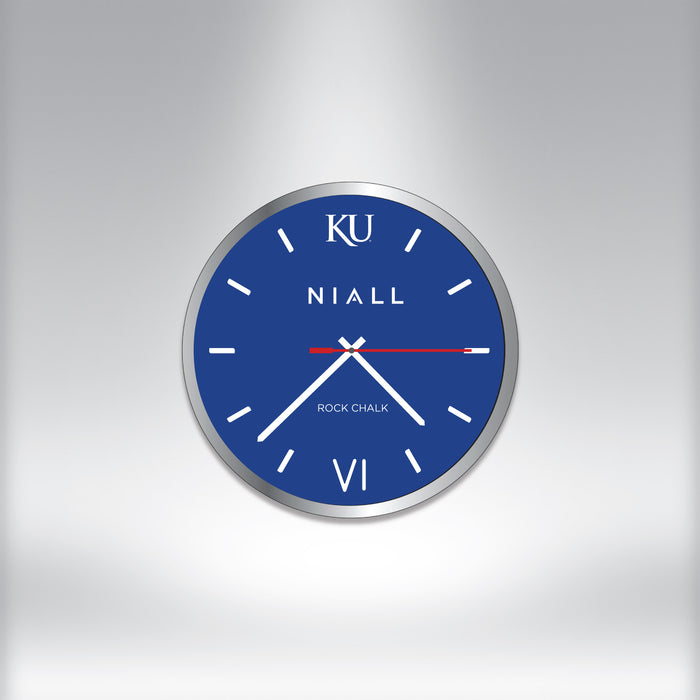Rock Chalk® Clock