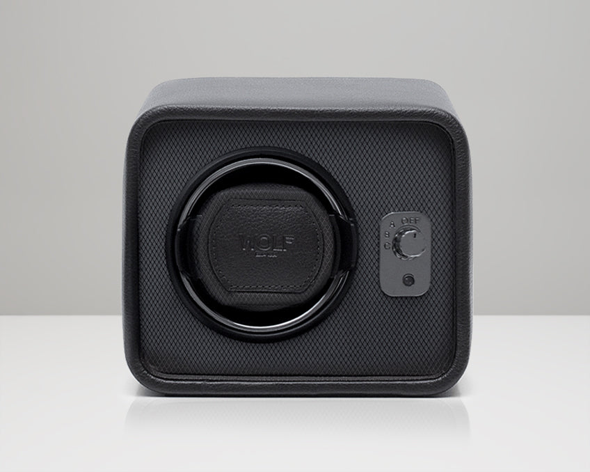 Mid-Century Watch Winder (Charcoal)