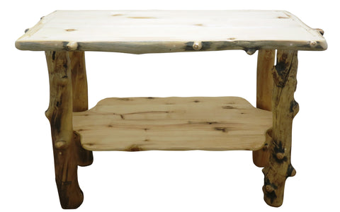 Aspen Grizzly Sofa Table   Wood Furniture Pro