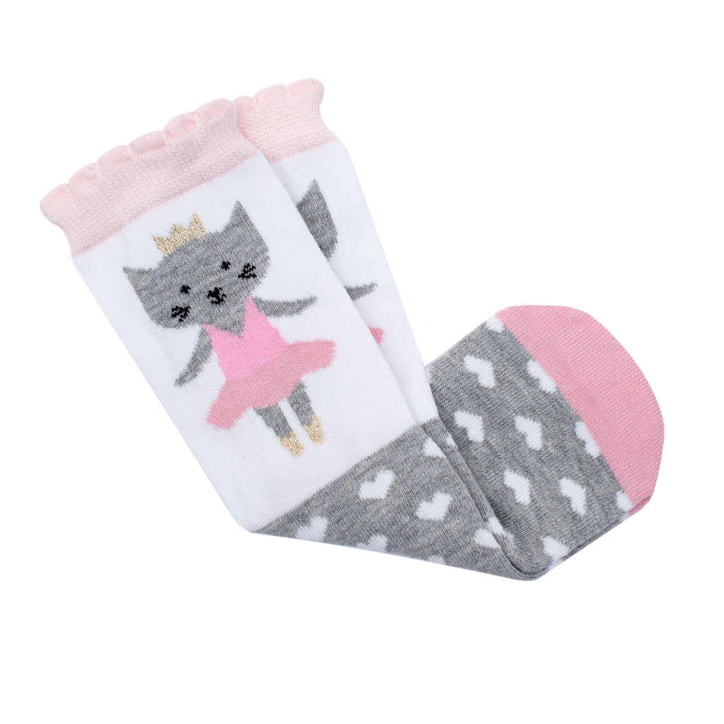 Ballet Cat Midi Sock - New