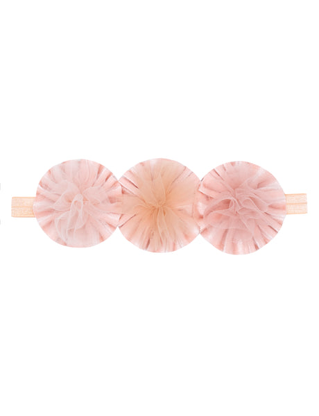Carnival Pom Pom Stretch Head Band