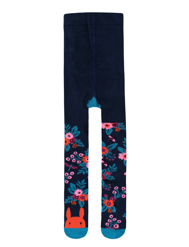 "Navy Garden Tights - 50% SALE WITH ""BILLY"" CODE"