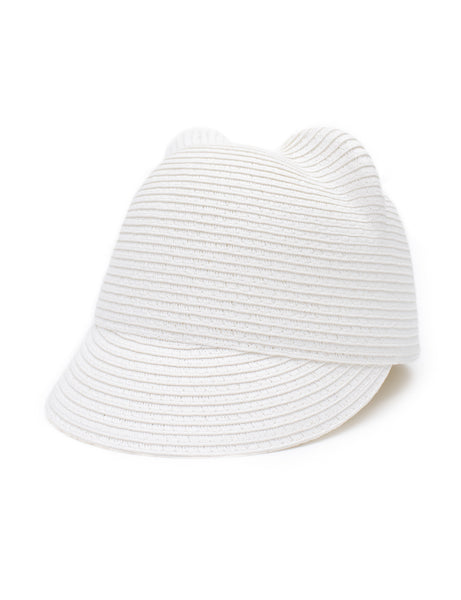 White Capri Hat