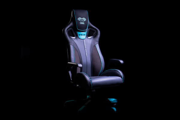 Cobra Throne Gaming Chair - Blue - E-Blue Gaming USA