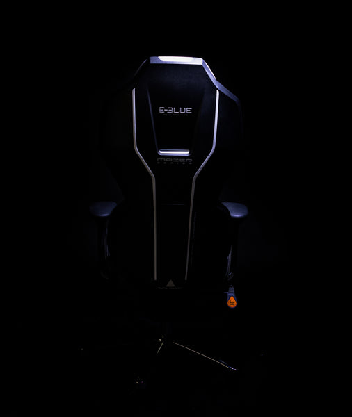 E-BLUE MAZER PC GAMING CHAIR (BLACK/GREY) - E-Blue Gaming USA