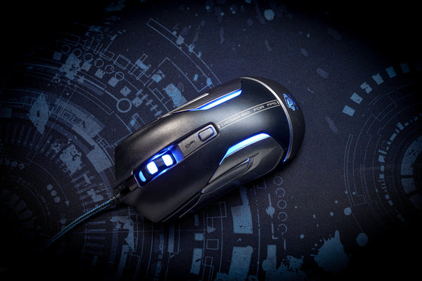 AUROZA FPS GAMING MOUSE - E-Blue Gaming USA