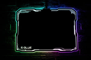 E-BLUE RGB MOUSE PAD
