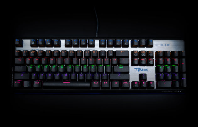 MAZER FPS FULL SIZE MECHANICAL KEYBOARD - E-Blue Gaming USA