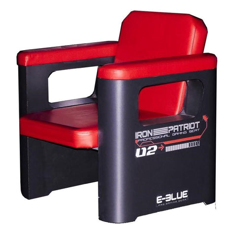 E-BLUE GAMING SOFA (BLACK/RED) - E-Blue Gaming USA