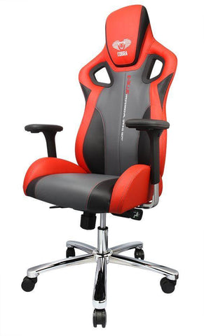 E-BLUE COBRA-X PC GAMING CHAIR (BLACK/RED)