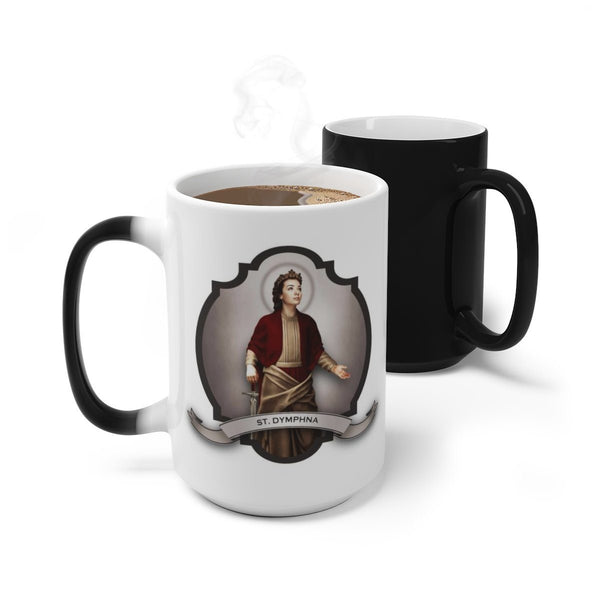 St. Dymphna Transitional Mug