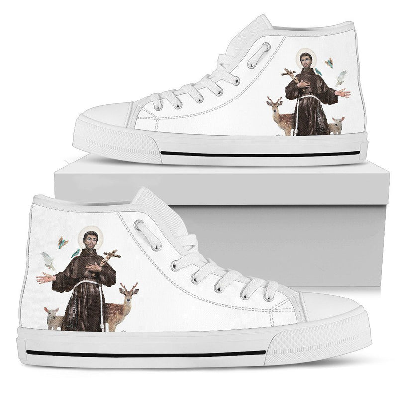 St. Francis of Assisi Men's High Top Shoes