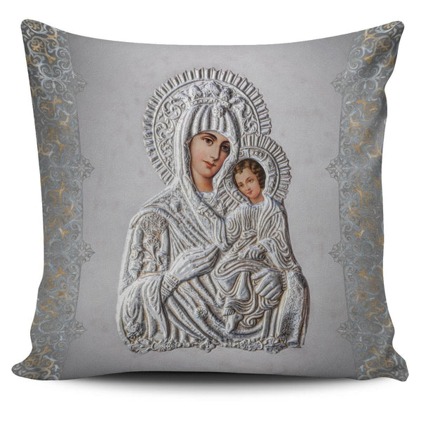Amore Divino Pillow Cover in Vintage Grey