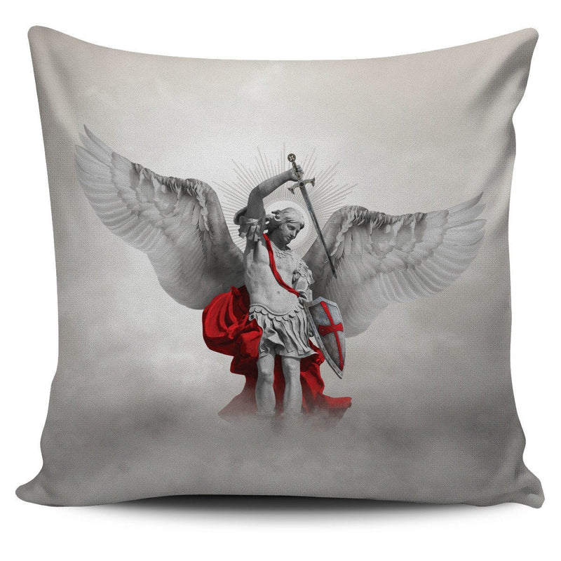 St. Michael the Archangel Pillow Cover Light