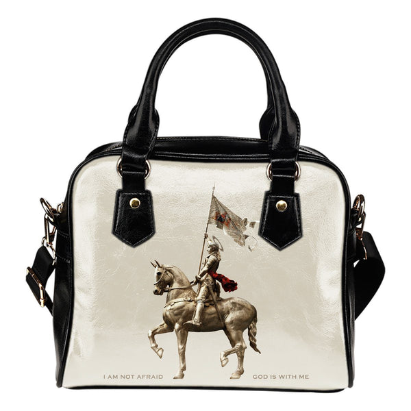 St. Joan of Arc Handbag Sand