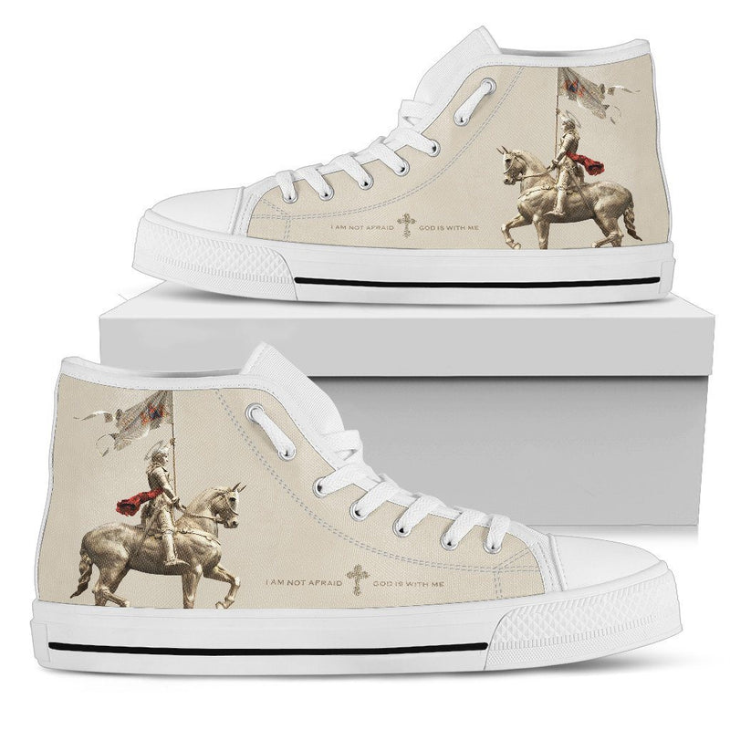 St. Joan of Arc Women's High Top Shoes