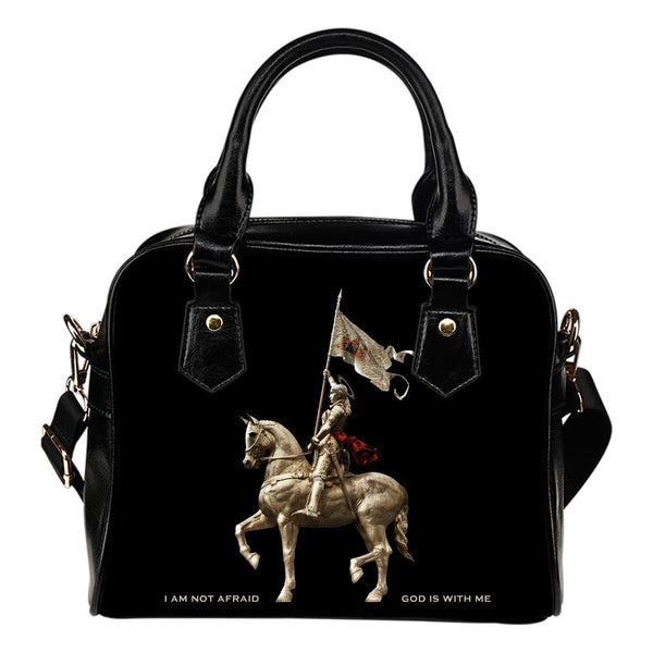 St. Joan of Arc Handbag Black