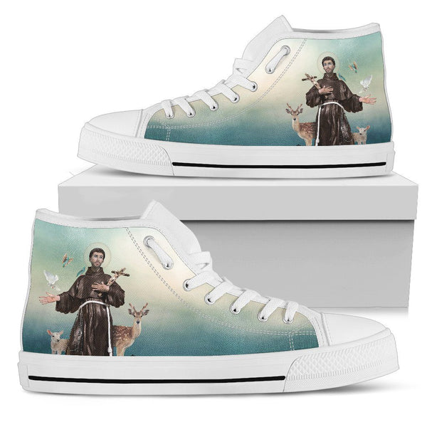 St. Francis of Assisi Women's High Top Shoes