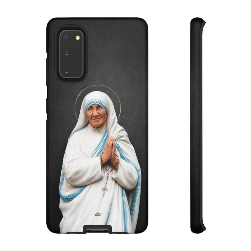 St. Mother Teresa Hard Phone Case (Dark)