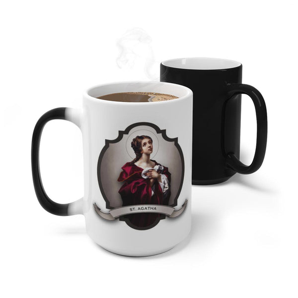 St. Agatha Transitional Mug
