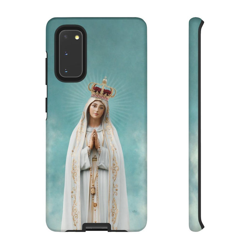 Our Lady of Fatima Hard Phone Case