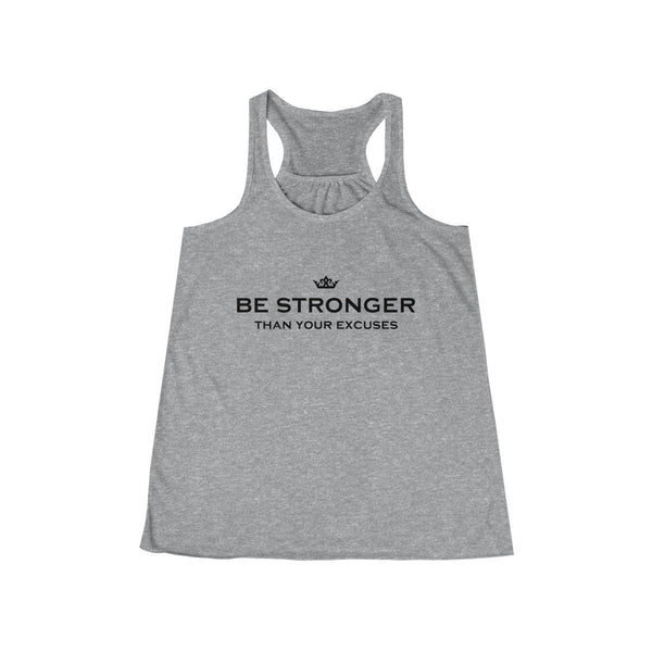 Be Stronger Women's Flowy Racerback Tank