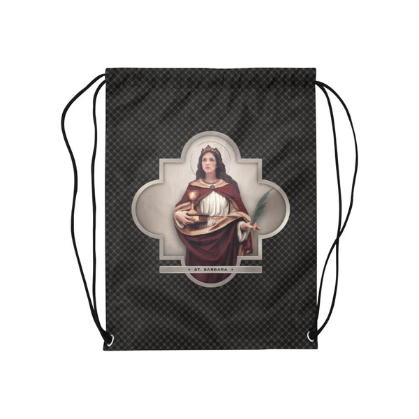 St. Barbara Drawstring Bag