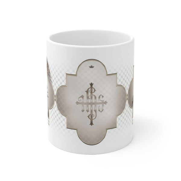 St. Joan of Arc in Battle Ceramic Mug