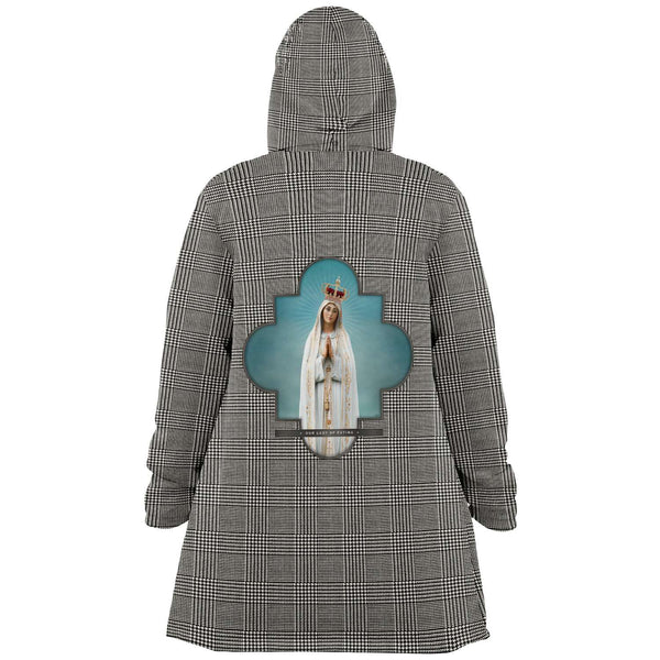 Our Lady of Fatima Cloak (Plaid)