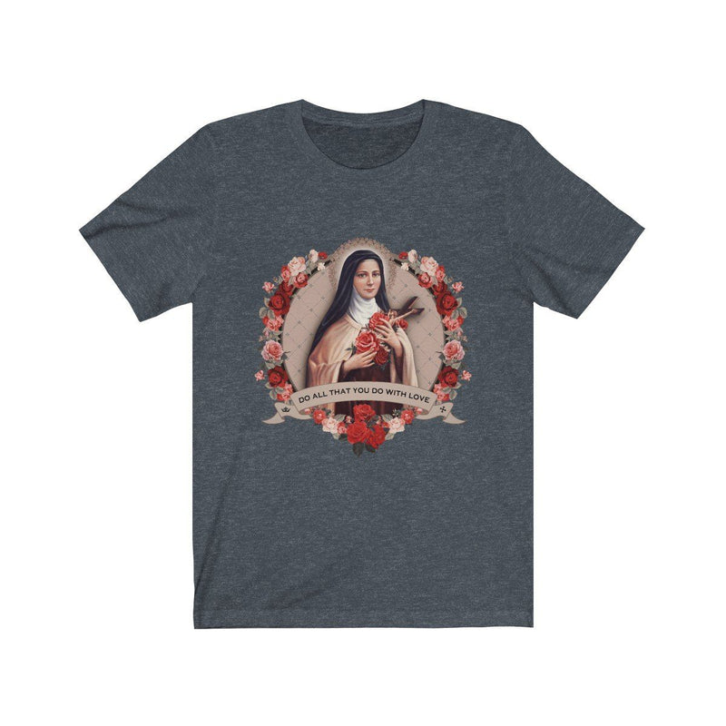 St. Therese of Lisieux Jersey T-Shirt